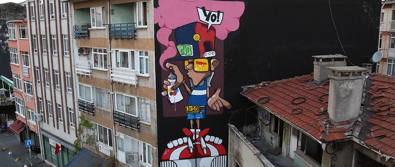 Kadıköy Mural İstanbul 2017 Festivali Başlıyor