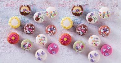 Kahve Yanında İyi Gider: Bahar Desenli Macaronlar