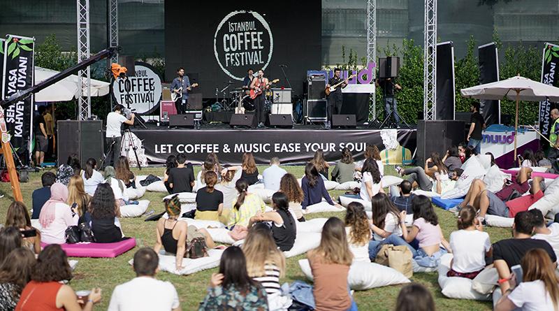 İstanbul Coffee Festival5. Yılında KüçükÇiftlik Park'ta